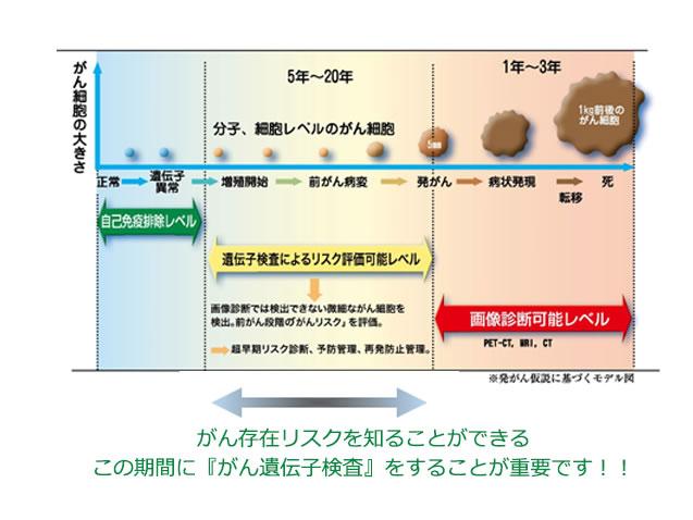 癌(がん)遺伝子検査 イメージ