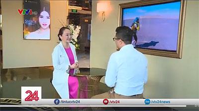 ベトナム放送局のVTV24に院長 片桐衣理が出演しました! イメージ