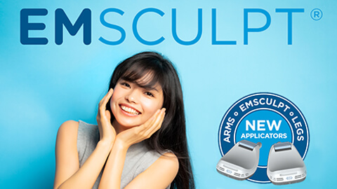 Emsculpt (body slimming, hip up, muscle  increasing)
