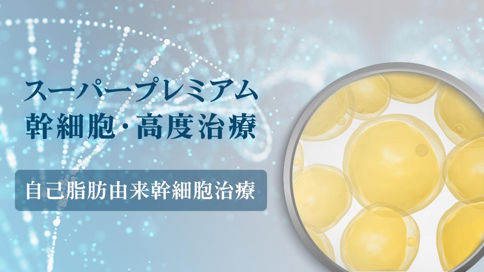 自己脂肪由来幹細胞治療